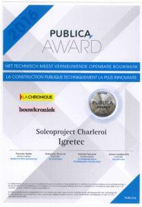 SOLEO récompensé aux Publica Awards