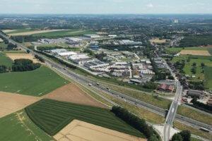 zones d'activités économiques  : Requalification du Parc Logistique de Courcelles