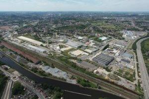 Zones d'activités économiques : Requalification du Parc d'Activités Economiques de Montignies-sur-Sambre